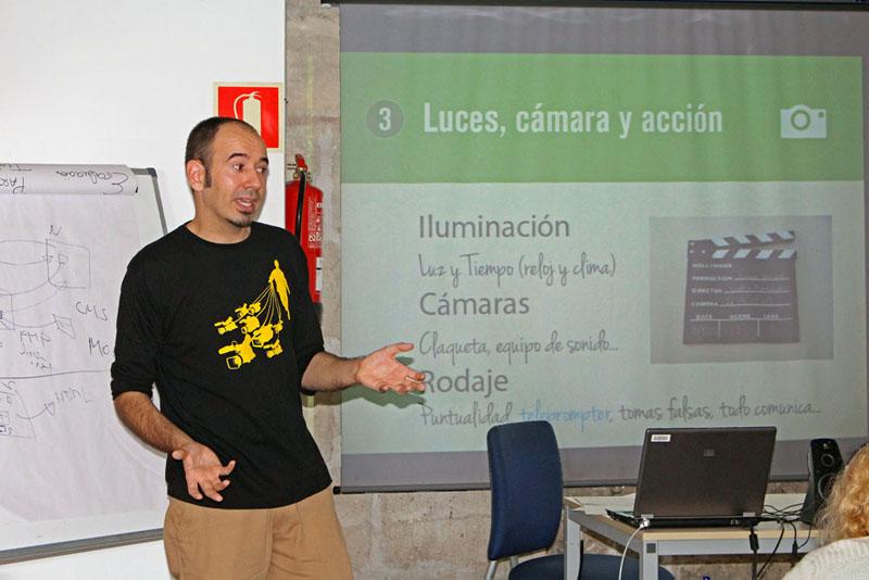 Cápsula Formativa 'Video BizCard' en PalmaActiva