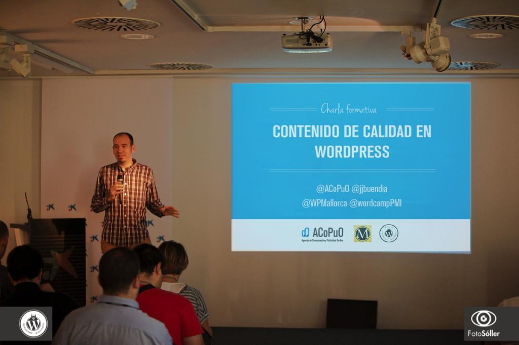 Juanjo Buendía en WordCamp