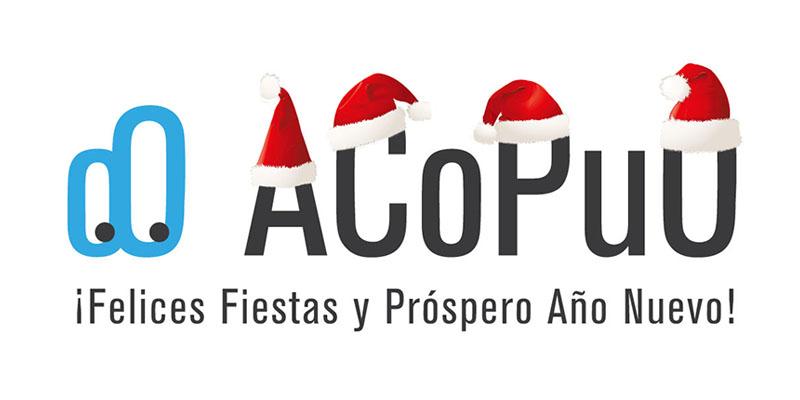 Logo ACoPuO Navidad