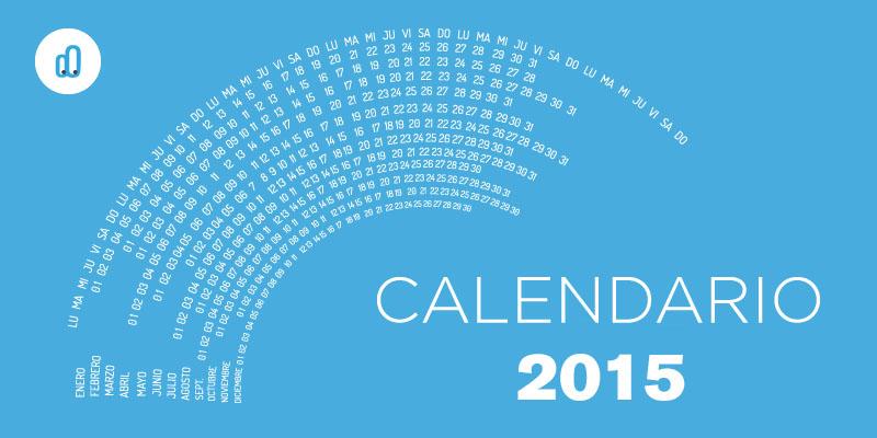 Calendario eventos 2015