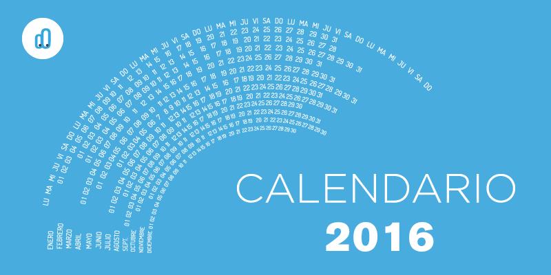 Agenda de eventos para 2016