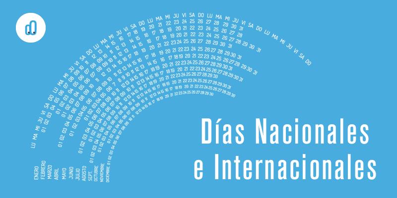 dias nacionales internacionales