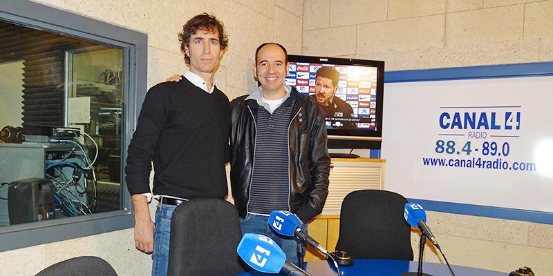 Juanjo Buendía y Jaime Mora en Canal4